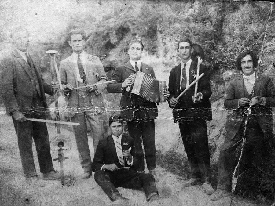 Músicos en Chantada